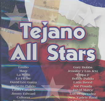 TEJANO ALL STARS (CD)